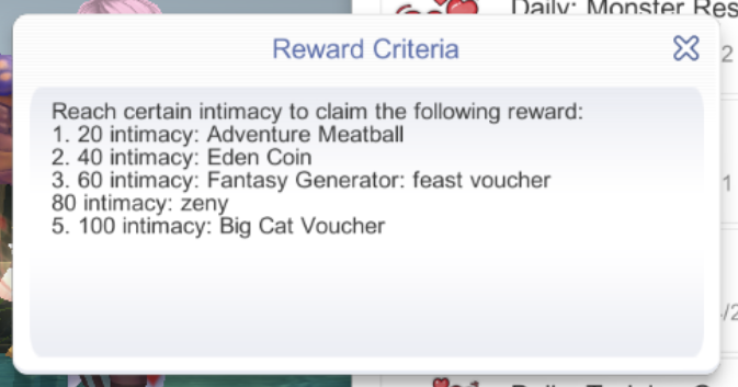list of assistant rewards ragnarok mobile