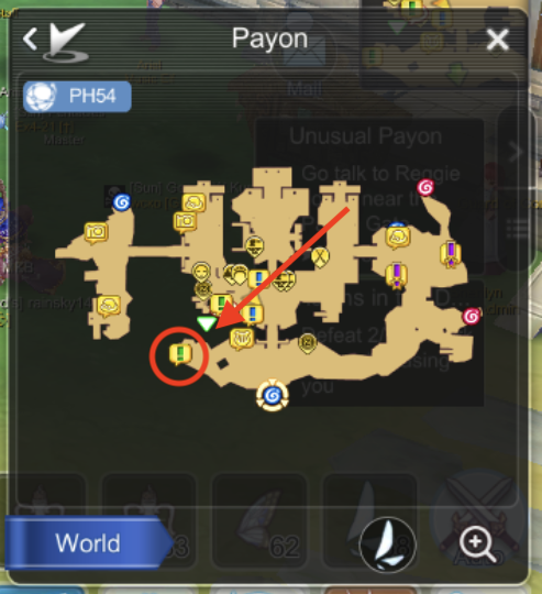 gadar stat reset npc payon location