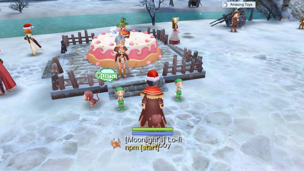 Claim Rudolph Mysterious Box reward from Christmas Cake Quest