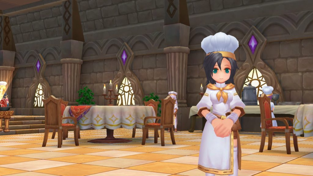 Pizza NPC in Cuisine Association Cooking Center to unlock Cooking