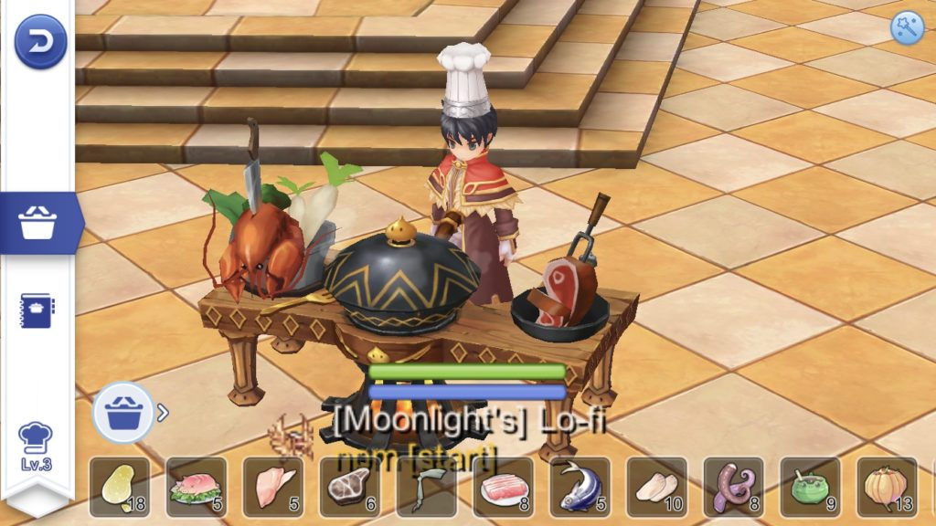 Unlock Cooking quest in Ragnarok Mobile eternal Love
