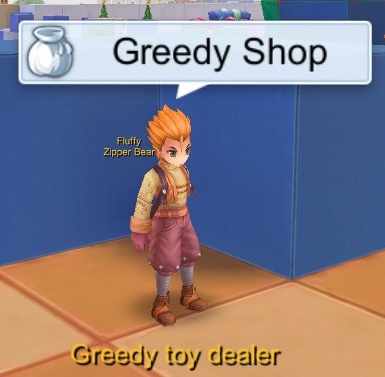 greedy shop npc toy factory 1f ragnarok mobile