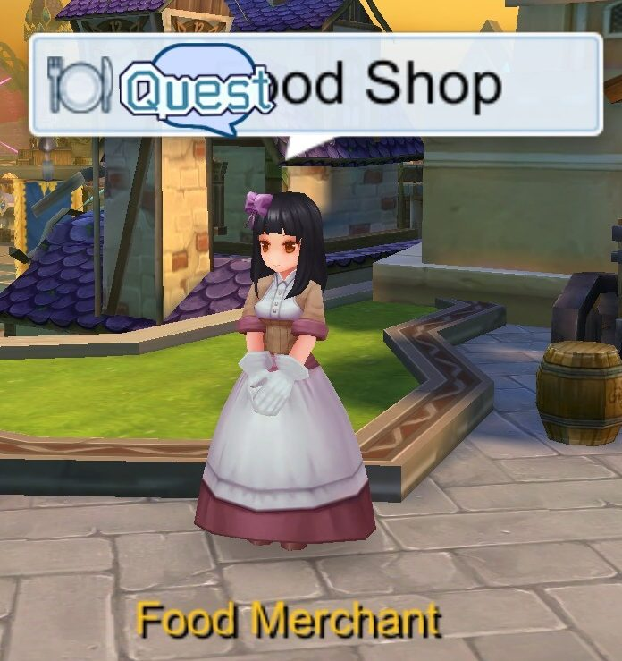 Food Merchant Food Shop NPC