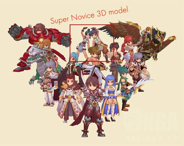Super novice 3D model new job class coming to Ragnarok Mobile eternal love