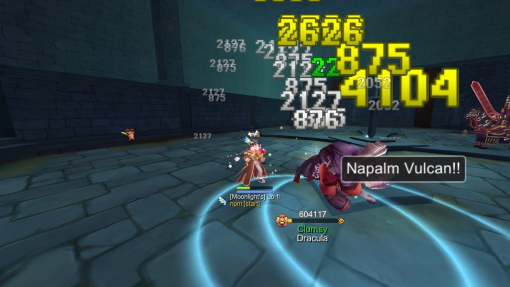 Hunting Draclua SMVP in Glast Heim Hall for Devil Wings quest