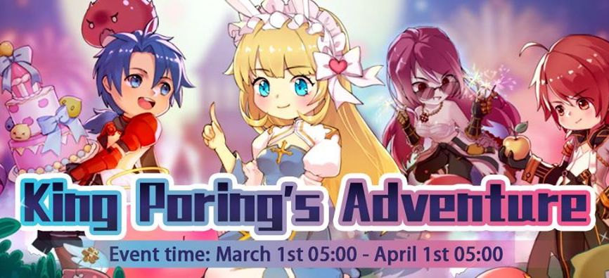 King Poring's Adventure March event quests in Ragnarok M eternal love
