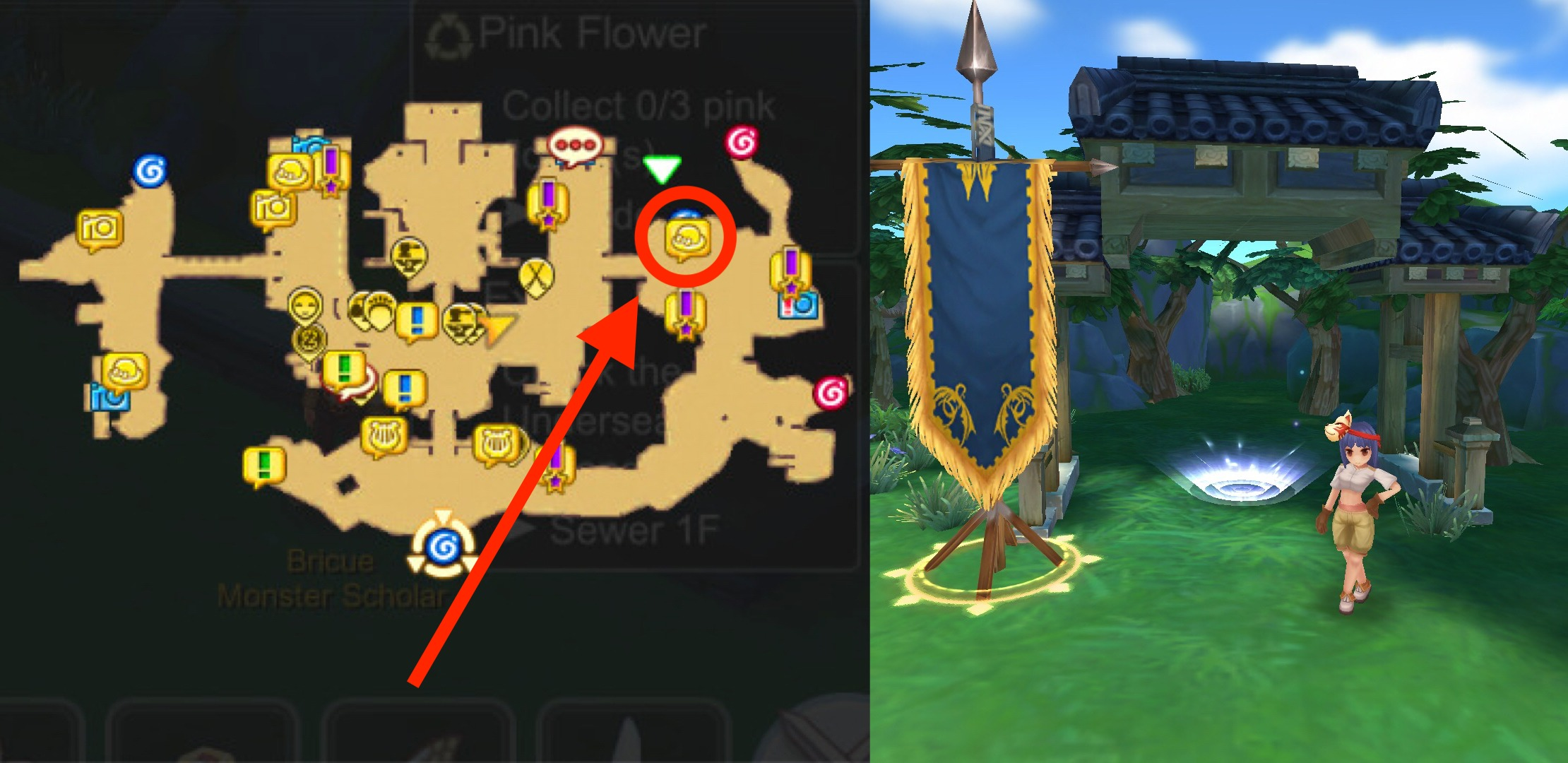 WoE Castle Locations and their God Weapon Artifacts & Chest