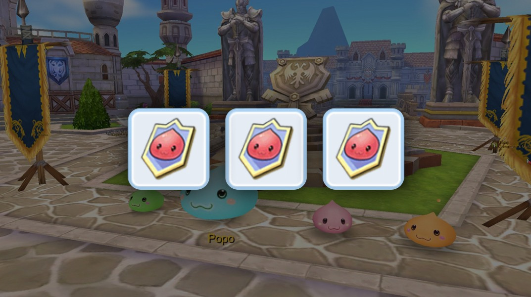 How to obtain Poring Celebration Medals