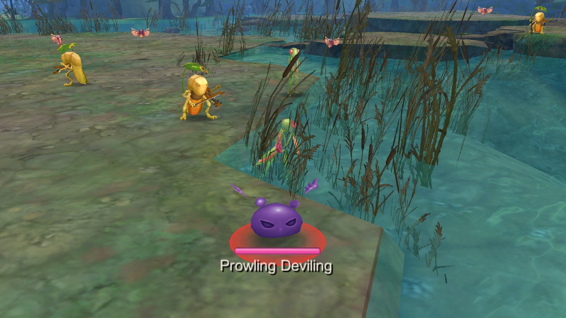 Where is Prowling Deviling in North Prontera using Ghost Camera 2