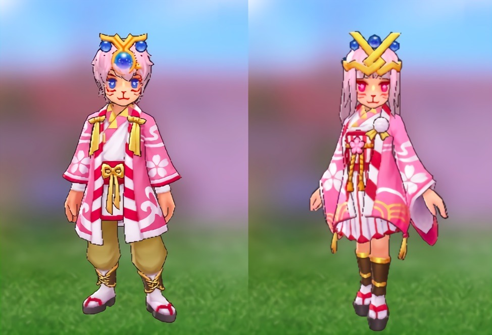 Sakura Moon Costume