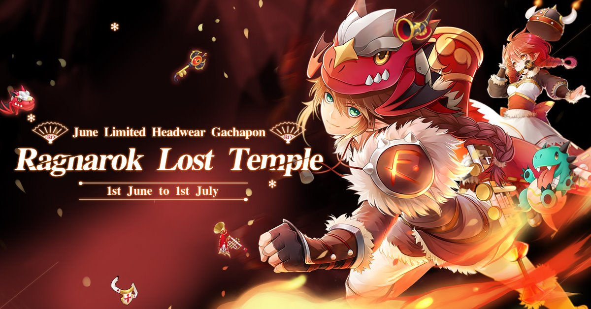 Ragnarok Mobile June Gachapon Gacha Costume Lost Temple