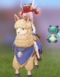 Alpaca Exclusive Mount for Acolyte Classes Ragnarok Mobile Episode 6.jpg