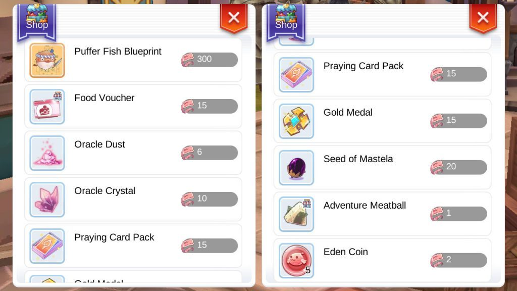 Celebration Food Voucher Rewards Ragnarok Mobile